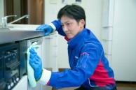 キッチンのお掃除から拭き